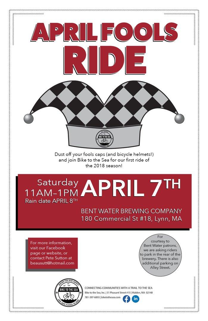 April Fools Ride Poster