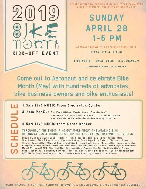 Bike Kick-Off Party Poster