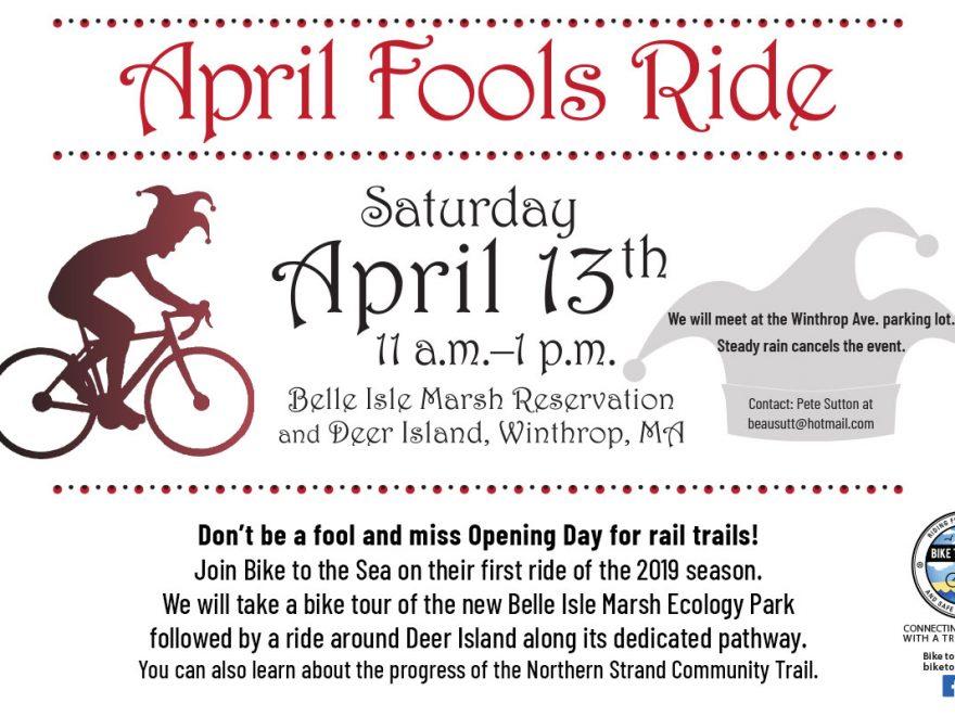 april fools' ride poster